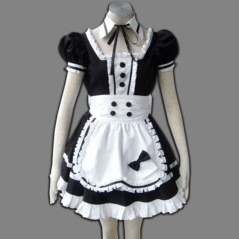 Maid Uniform 5 Princess Of Dark Traje Cosplay