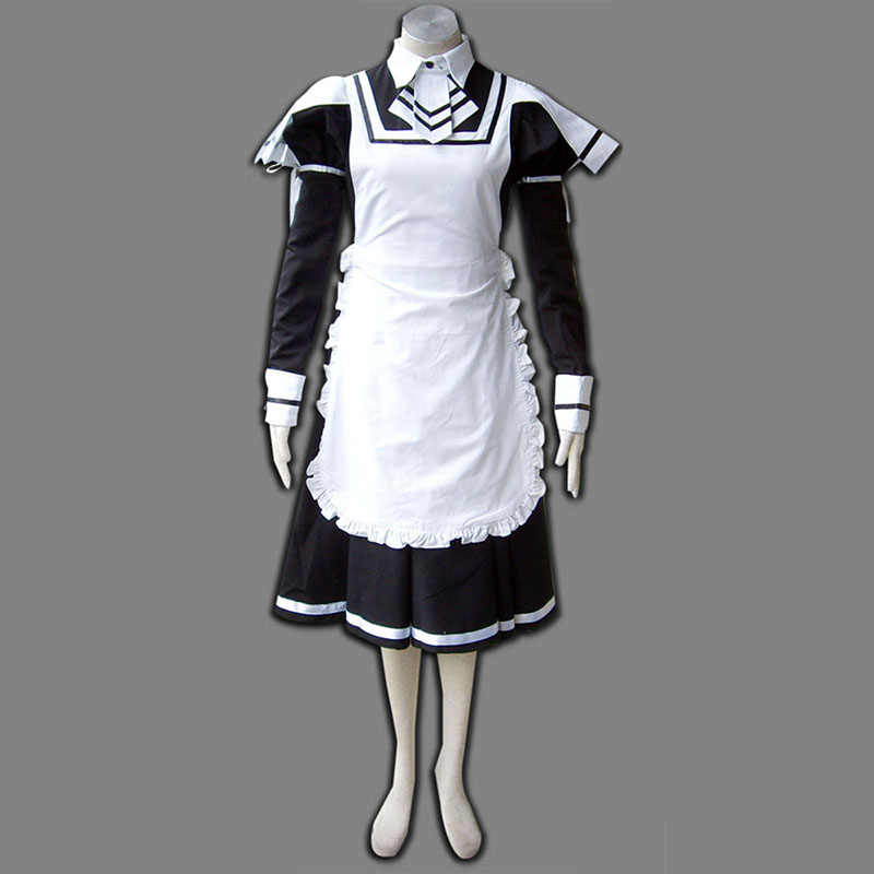 Maid Uniform 7 Deadly Weapon Traje Cosplay