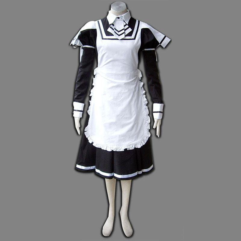 Maid Uniform 7 Deadly Weapon Cosplay Kostym