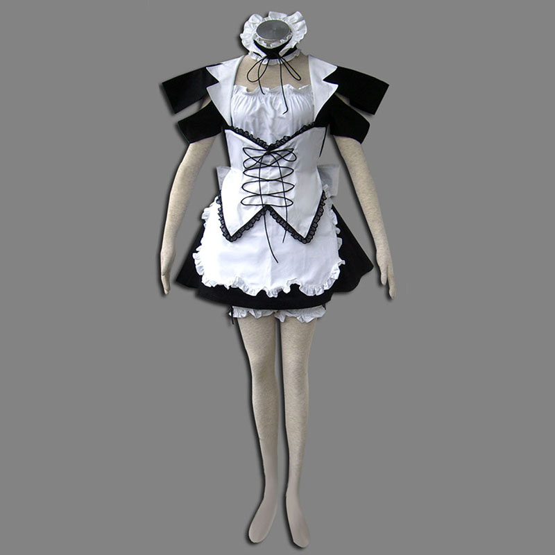 Déguisement Costume Carnaval Cosplay Maid Uniform 13TH Wind Spirit