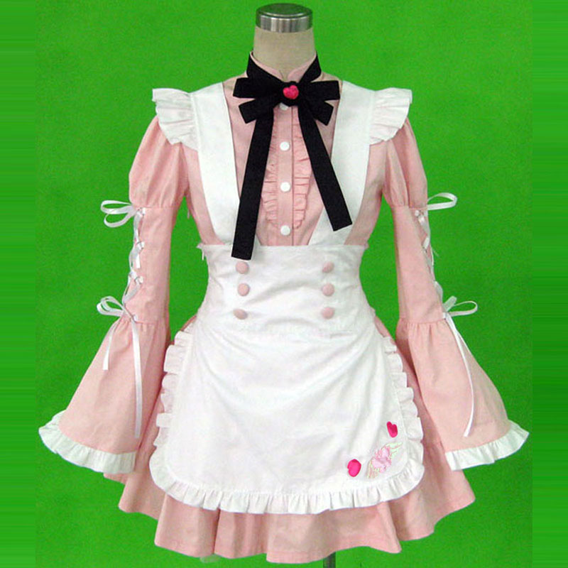 Maid Uniform 14 Cherry Snow Traje Cosplay