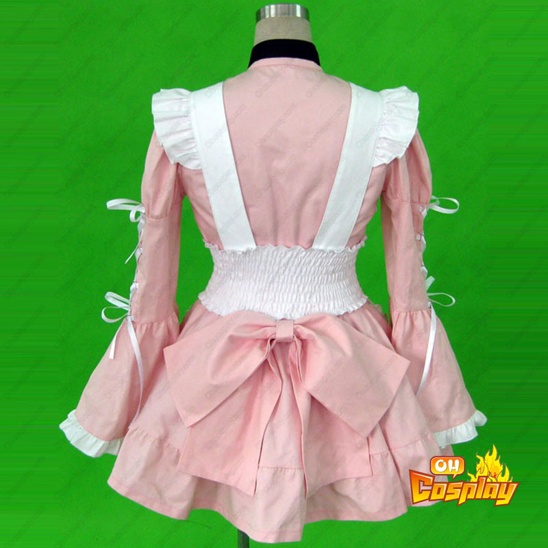 Maid Uniform 14 Cherry Snow Traje Cosplay