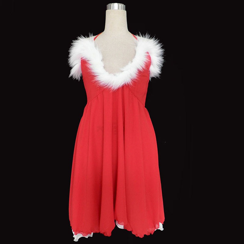 Christmas Lady Dress 3RD Cosplay Costumes