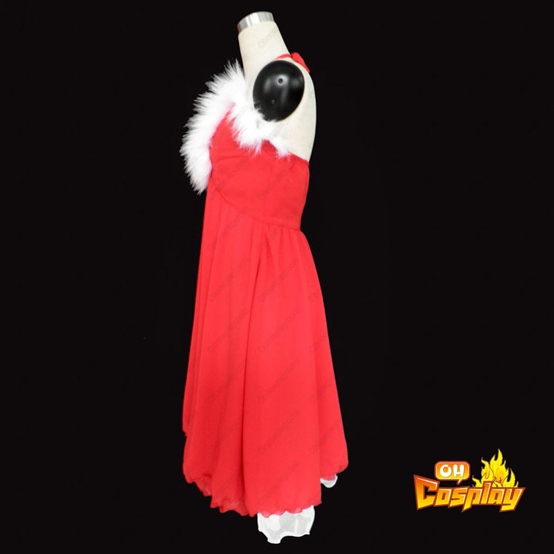 Коледни Дамски рокли3 Cosplay костюми