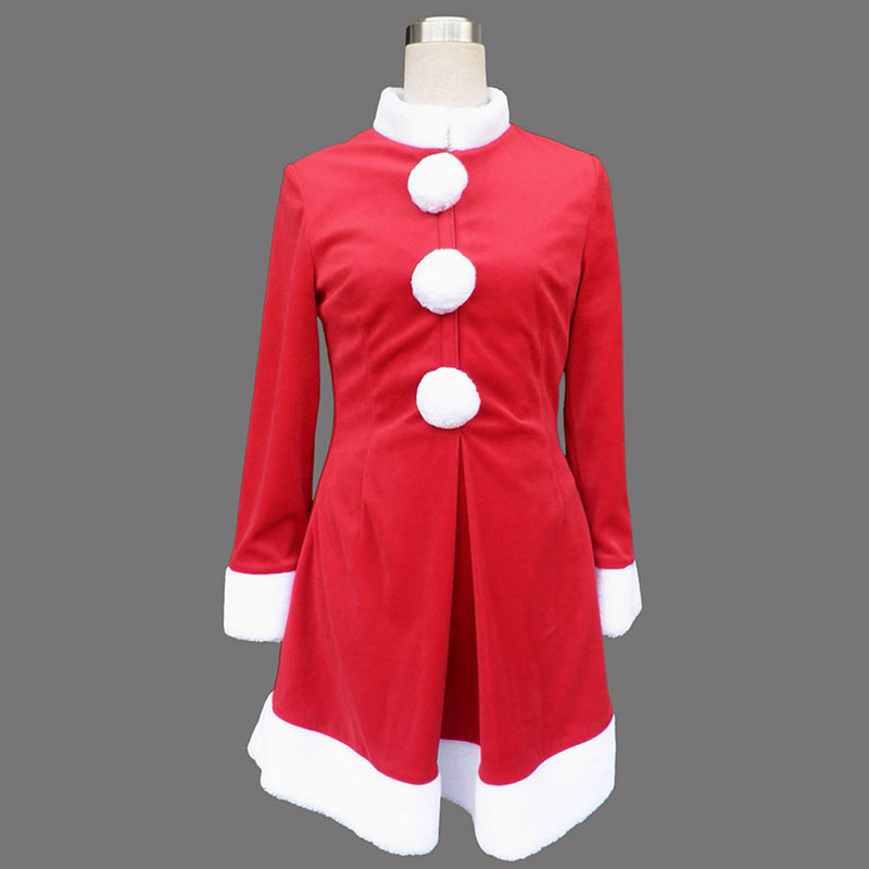 Red Christmas Lady Dress 6 Cosplay Costumes UK Cosplay Costumes UK
