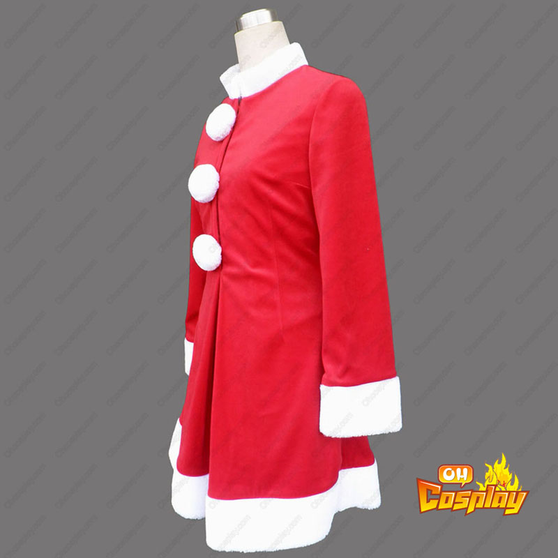 Vermelho Natal Senhora Vestidos 6 Traje Cosplay