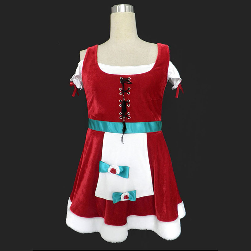 Christmas Lady Dress 8Cosplay Costumes UK Cosplay Costumes UK