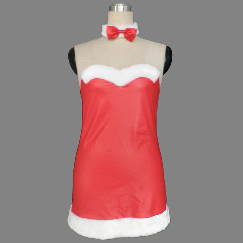 Christmas Bunny Rabbit Lady Dress 2 Cosplay Costumes UK