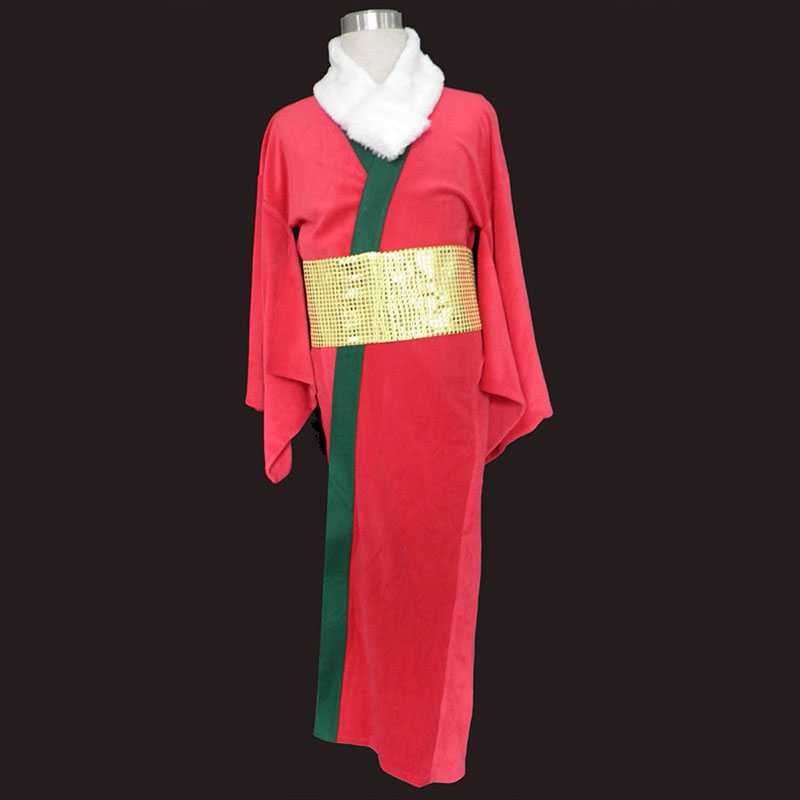 Christmas Red Kimono 1 Cosplay Costumes UK