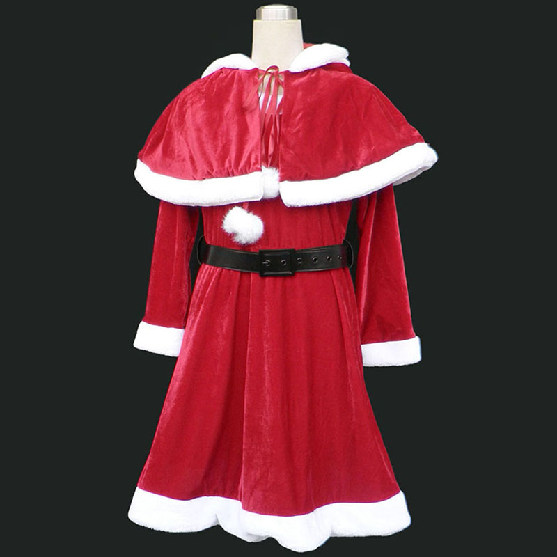 Christmas Lady Dress 9Cosplay Costumes UK Red Cosplay Costumes UK