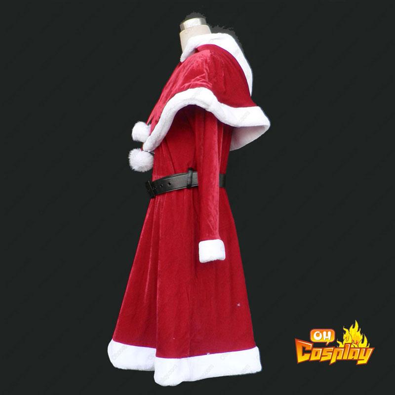 Natal Senhora Vestidos 9 Vermelho Traje Cosplay