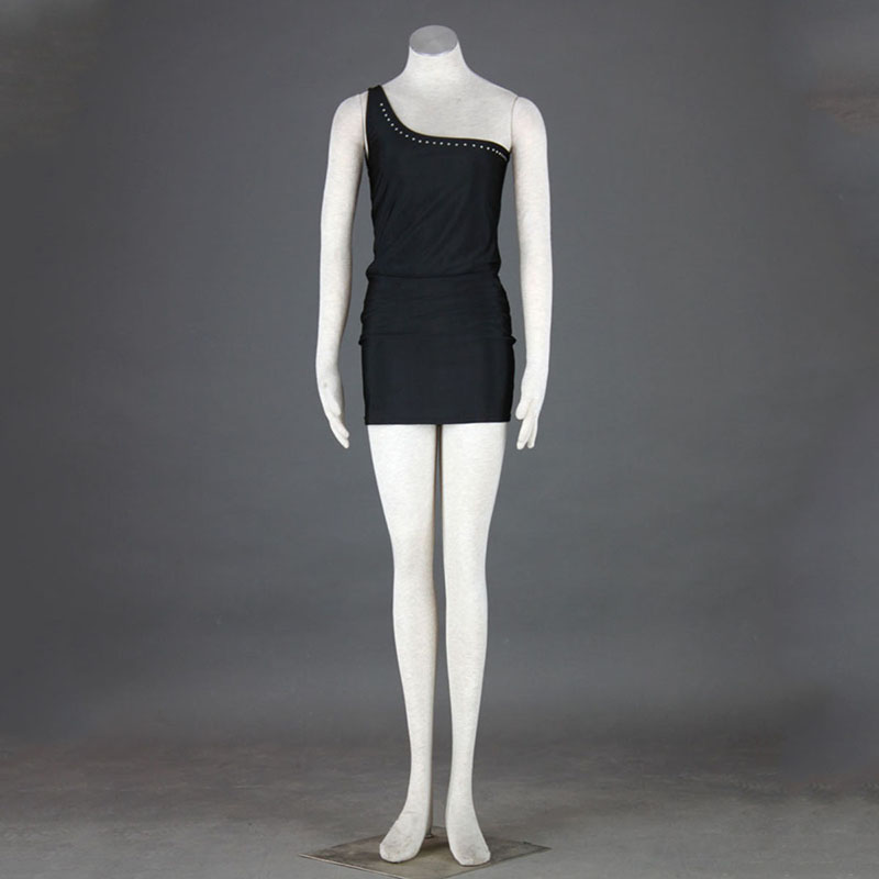 Nightclub Culture Black Sexy Evening Dress 4TH Cosplay Costumes Deluxe Edition