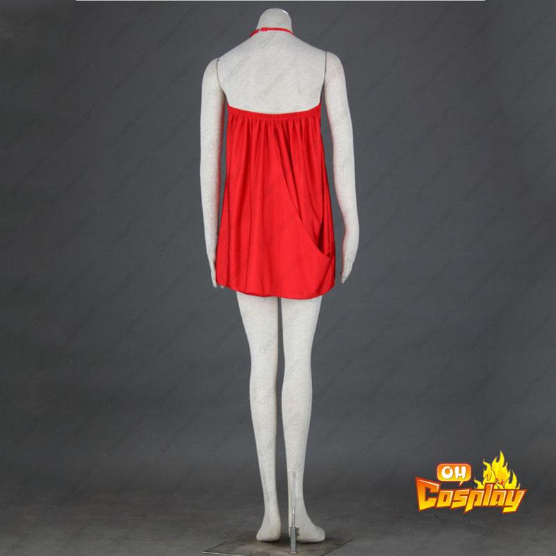 Discoteca Cultura Vermelho Sexy Vestidos 5 Traje Cosplay