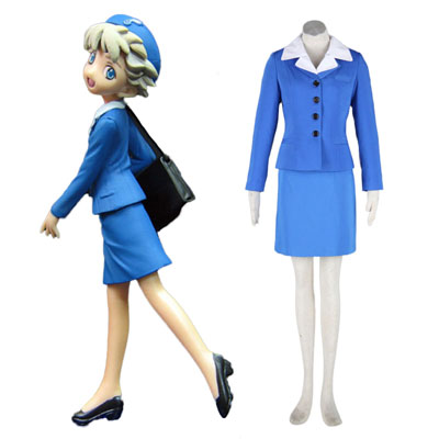 Déguisement Costume Carnaval Cosplay Aviation Uniform Culture Stewardess 2