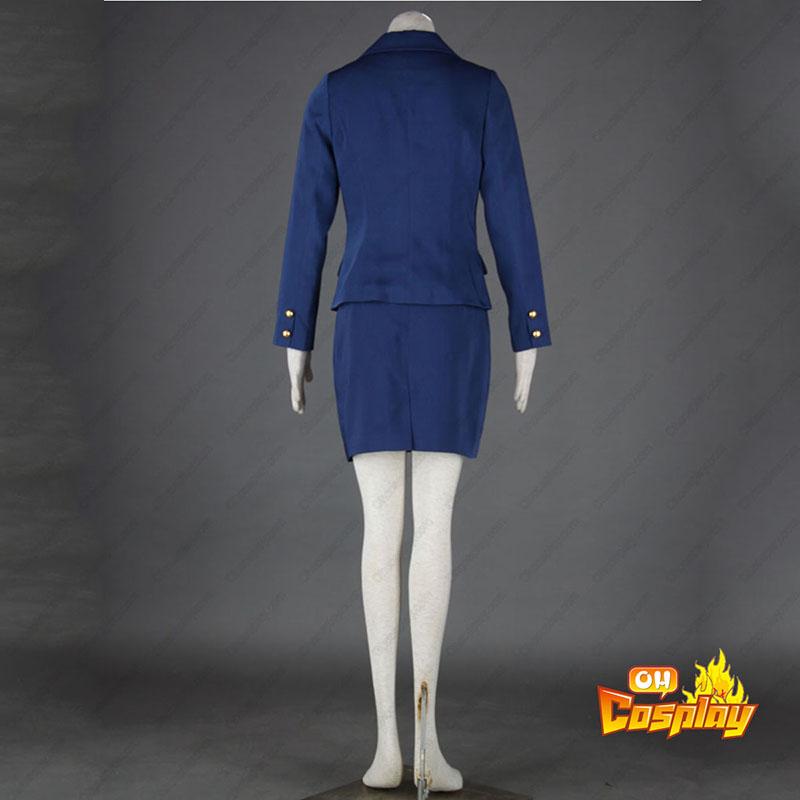 Luftfart Uniform Culture Värdinna 3 Cosplay Kostym
