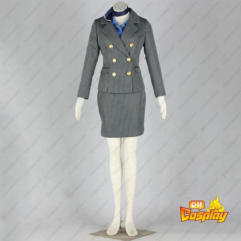Aviation Uniform Kultur flyvertinne 8 Cosplay Kostymer