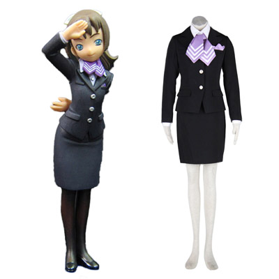 Déguisement Costume Carnaval Cosplay Aviation Uniform Culture Stewardess 9