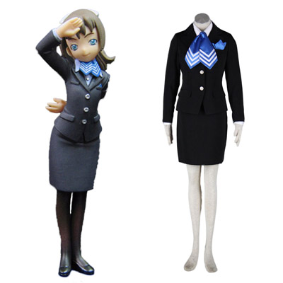 Aviation Uniform Culture Stewardess 10TH Cosplay Costumes Deluxe Edition