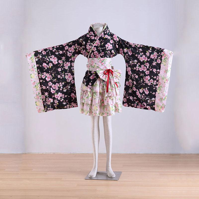 Kimono Culture Sakura Story 1 Cosplay Kostuums