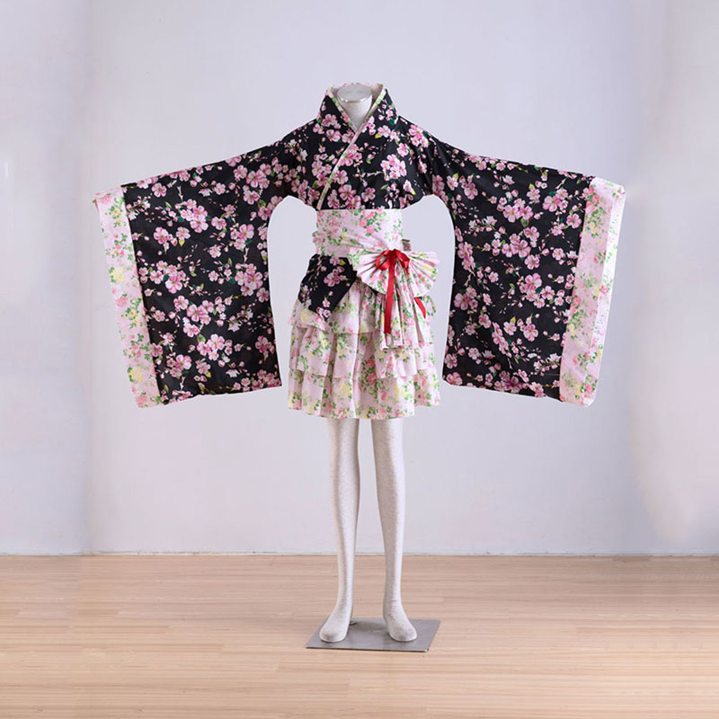 Kimono Culture Sakura Story 1 Cosplay Puvut