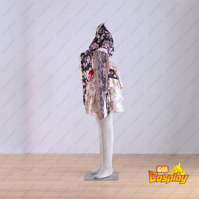 Kimono Kultur Sakura Story 1 Cosplay Kostymer