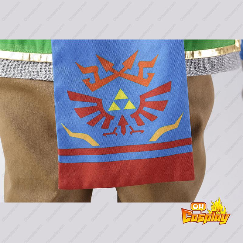The Legend of Zelda Hyrule-Warriors Link 5 Traje Cosplay