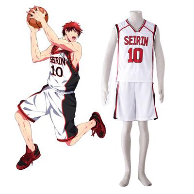 Kuroko's Basketball Taiga Kagami 3 Cosplay Kostym