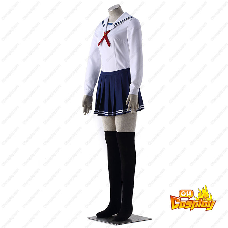 Saekano: How to Raise a Boring Girlfriend Toyogasaki Uniforms Traje Cosplay