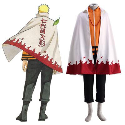 Naruto Shippuuden Naruto Uzumaki 12 Cosplay Kostymer