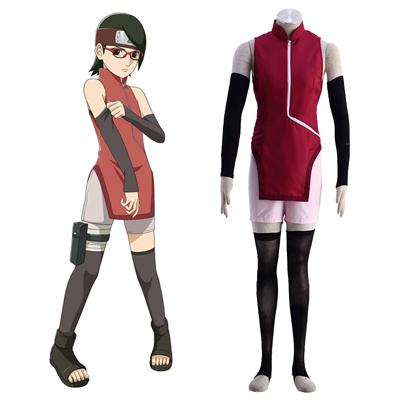 ナルトUchiha Sarada 1 コスプレ衣装