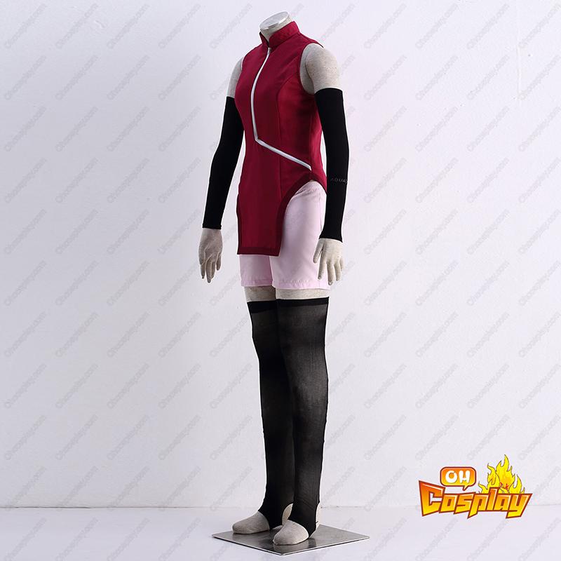 Naruto Uchiha Sarada 1 Traje Cosplay