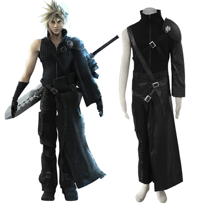 Costumi Carnevale Final Fantasy VII Cloud Strife Cosplay
