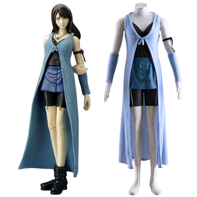 פיינל פנטזי VIII Rinoa Heartilly 1 תחפושות קוספליי