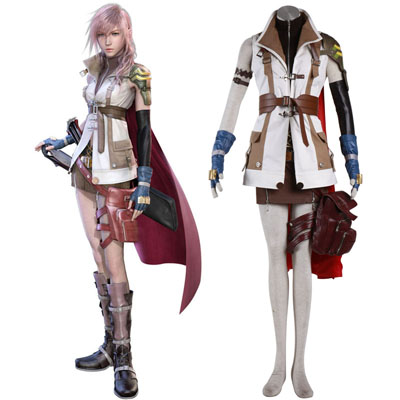 Final Fantasy XIII Lightning 1ST Cosplay Costumes