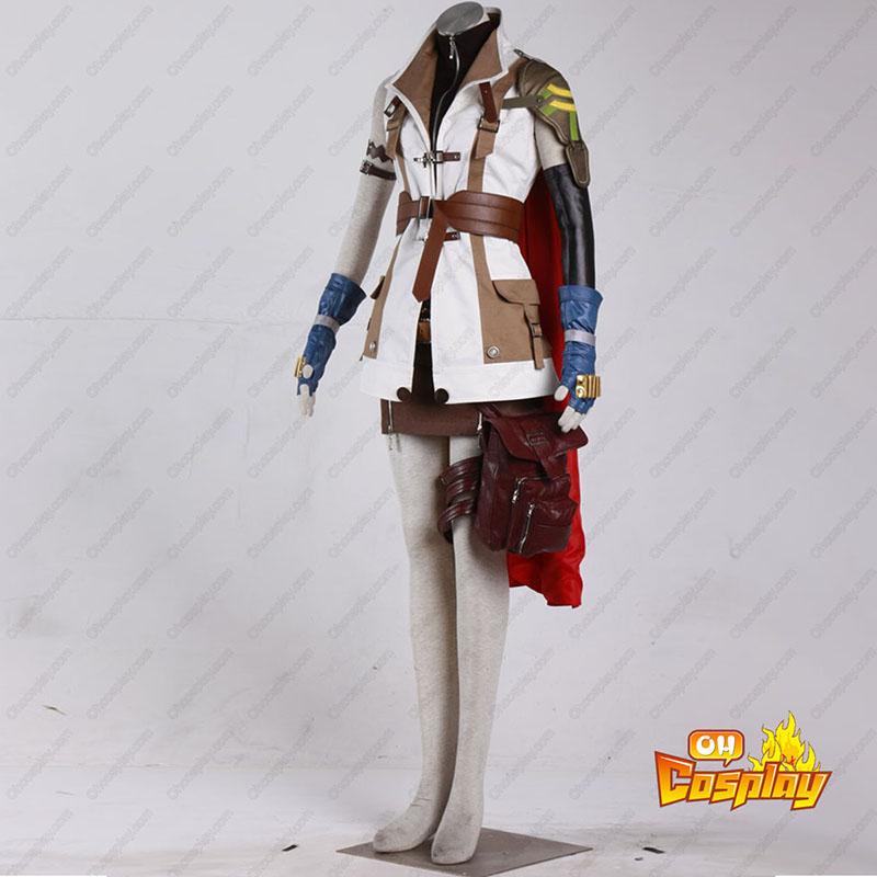 Final Fantasy XIII Lightning 1 Traje Cosplay