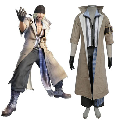 Final Fantasy XIII Snow Villiers 1ST Cosplay Costumes
