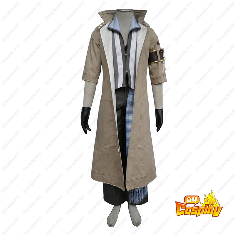 Final Fantasy XIII Snow Villiers 1 Traje Cosplay