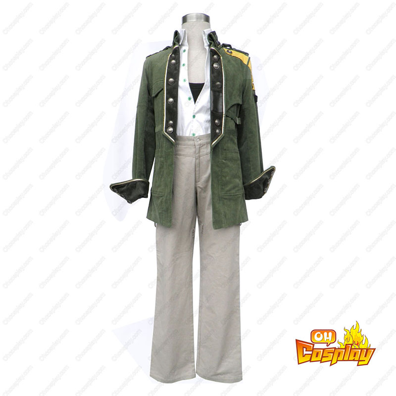Final Fantasy XIII Sazh Katzroy 1ST Cosplay Costumes