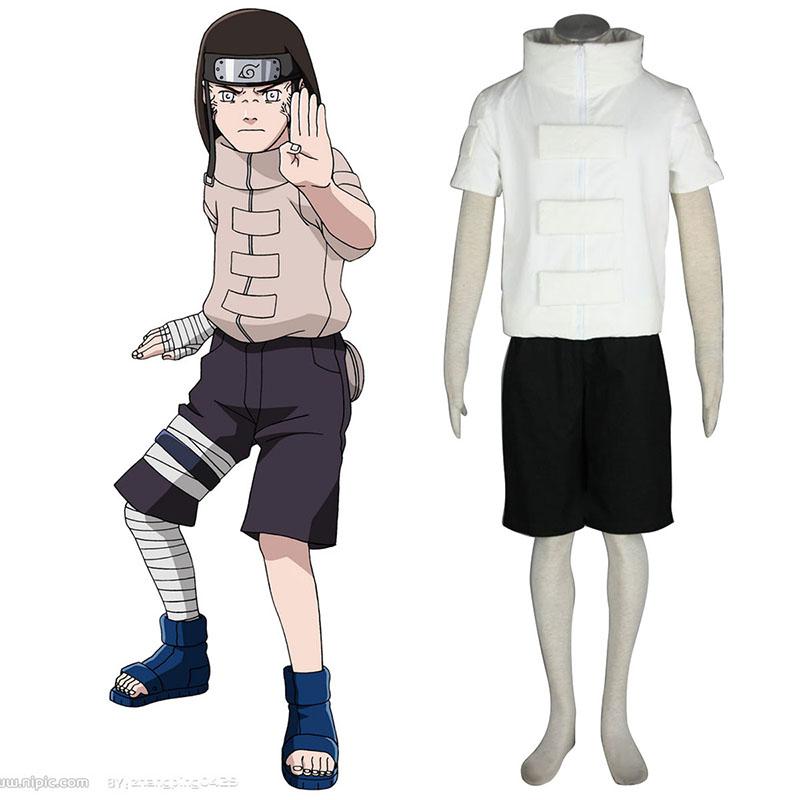 Naruto Hyūga Neji 1 Traje Cosplay