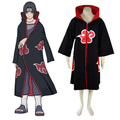 Naruto Akatsuki organization 1ST Cosplay Costumes