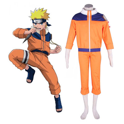 Naruto Uzumaki Naruto 1 Cosplay Costumes NZ