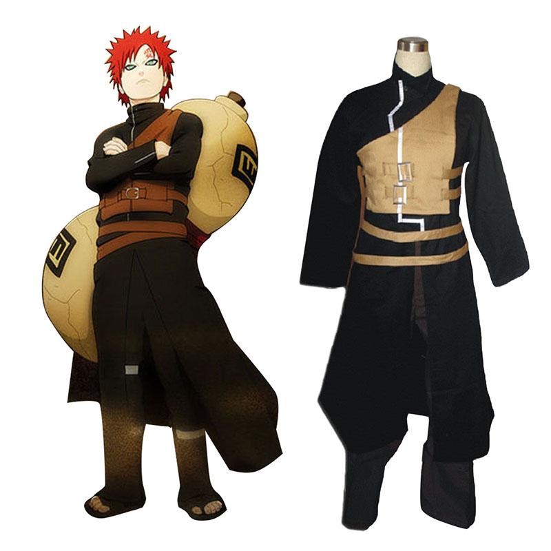 Naruto Shippuden Gaara 2 Traje Cosplay