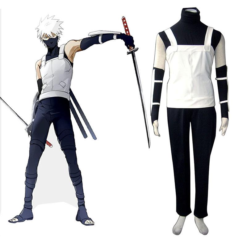 Naruto Kakashi Hatake 1 Cosplay Kostymer