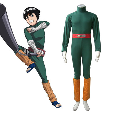 Naruto Rock Lee 1 Cosplay Kostýmy