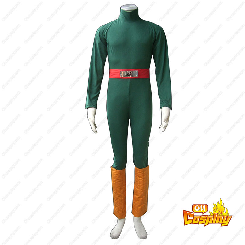 Naruto Rock Lee 1ST Cosplay Costumes