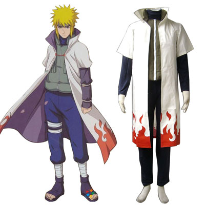 Naruto Fourth Hokage 1ST Cosplay Costumes