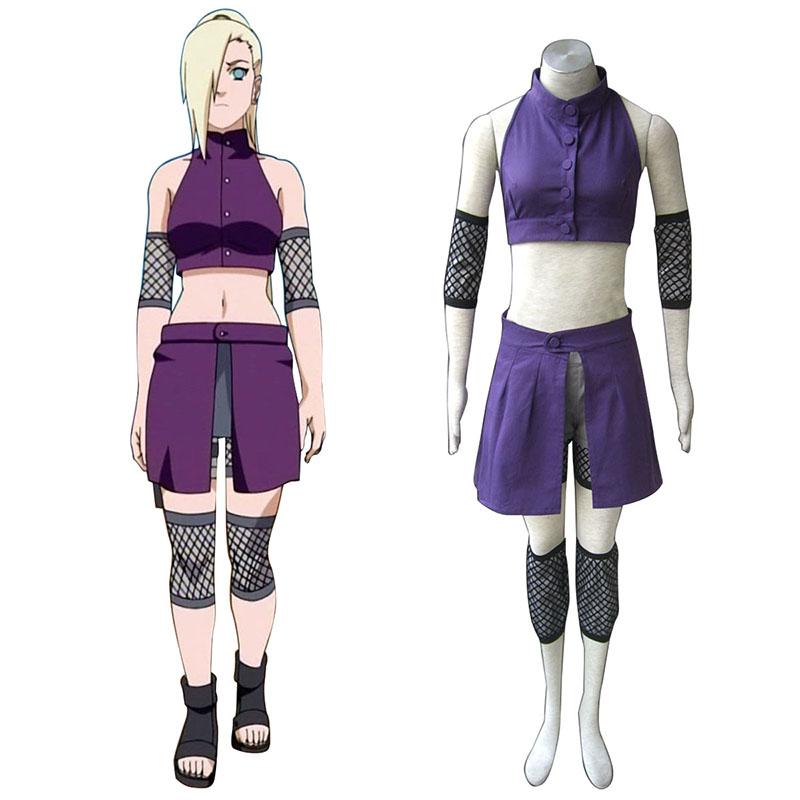 Naruto Shippuden Yamanaka Ino 2 Traje Cosplay
