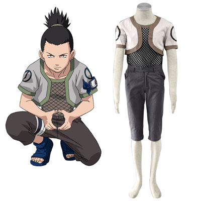 Naruto Nara Shikamaru 1 Cosplay Kostýmy