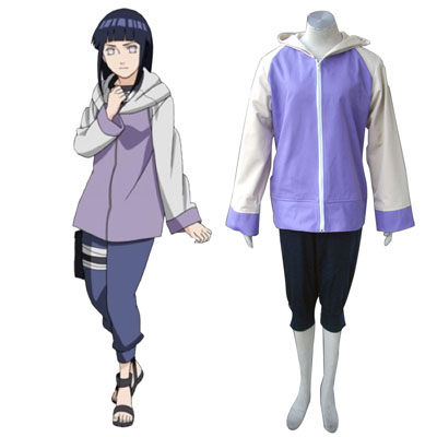 Naruto Shippuden Hinata Hyuga 2ND Cosplay Costumes