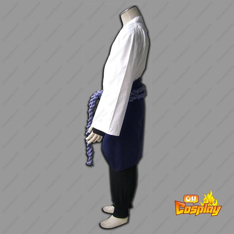 Naruto Shippuden Sasuke Uchiha 3 Traje Cosplay